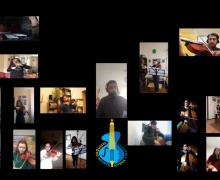 ¡La Orquesta volvió a reunirse con novedoso protocolo!