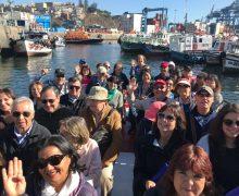 Exitoso primer recorrido turístico organizado por la Gobernanza Barrio Puerto