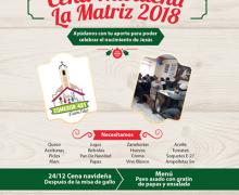 ¿Quieres Colaborar con la Cena de La Matriz?