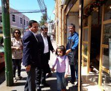 Representantes de Corfo y Sercotec visitaron el Barrio Puerto