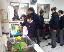 Colegio Montemar colabora con el Comedor 421