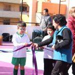 Asistimos a la Inauguración de la cancha en Población Márquez