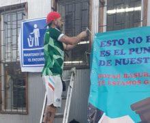 Se realiza jornada de limpieza para revitalizar punto limpio de Barrio Puerto