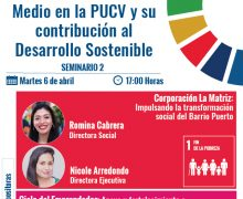 Webinar PUCV: Participamos en conversatorio sobre sostenibilidad