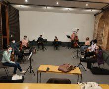 Con el apoyo de DUC, nuestra orquesta retorna a ensayos presenciales